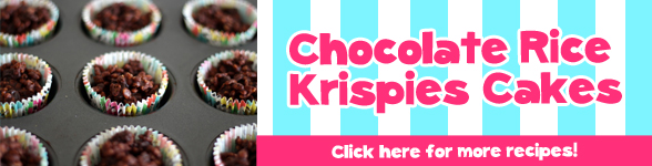chocolate rice krisipie cakes