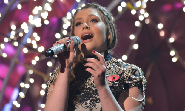 Ella Henderson on The X Factor