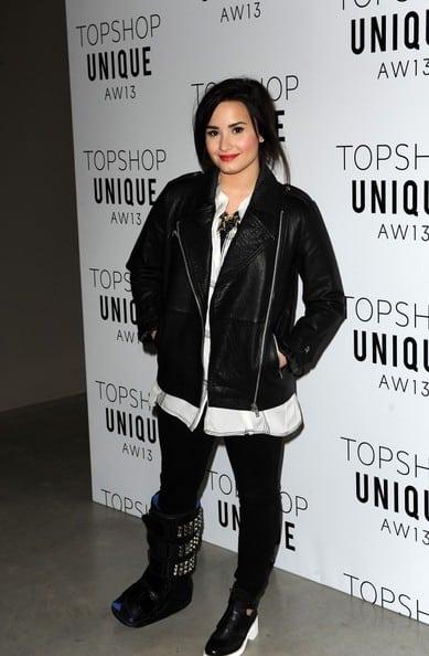 Demi Lovato LFW