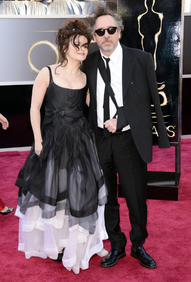 Tm Burton and Helena Bonehm Carter Oscars