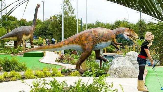 Dino Golf 1