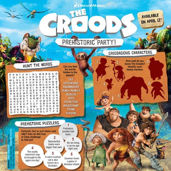 Croods-Activity
