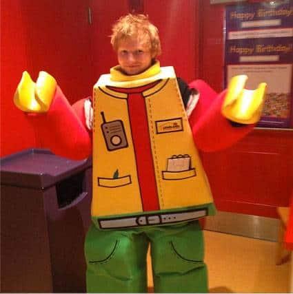 Lego Ed Sheeran