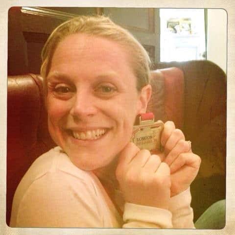 hannah with medal