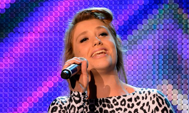 X Factor's Ella Henderson … so far proved to be a highly competent singer.