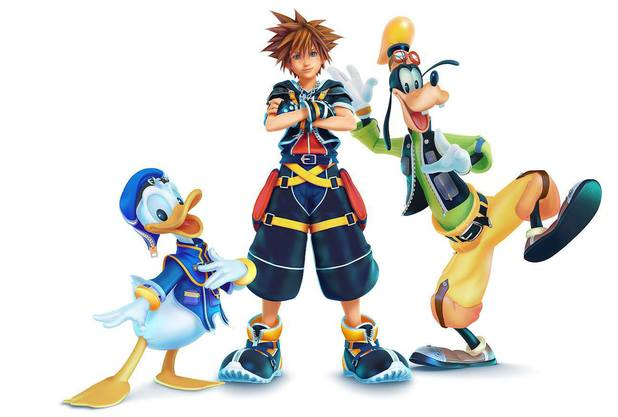 Kingdom Hearts 3 Game Character Artwork