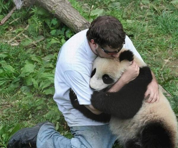 pand-hugging