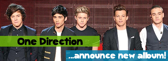 One Direction Detail: One Direction Announce Details On Their 3rd Album