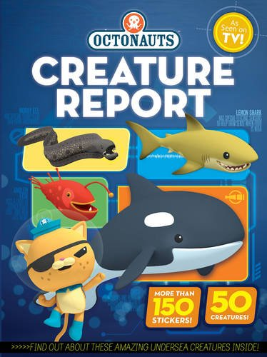Octonauts Creature Report Book Cover