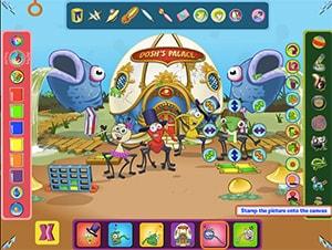 Bin-Weevils-Arty-Arcade-Screenshot