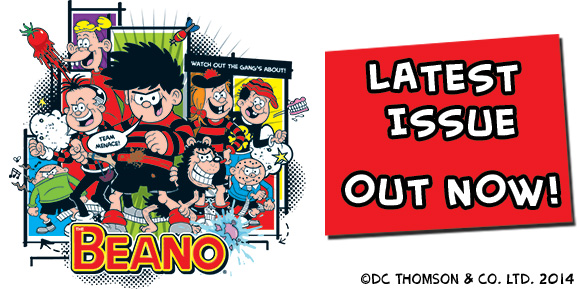 Beano-This-Issue-Header