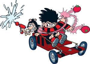 Dennis-and-Gnasher-Racing