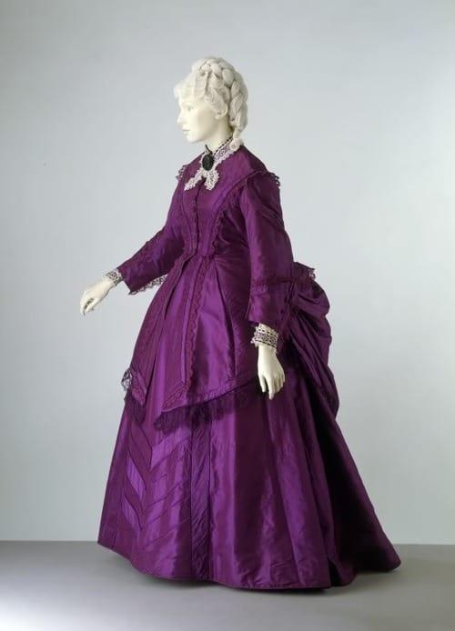mauveine dress