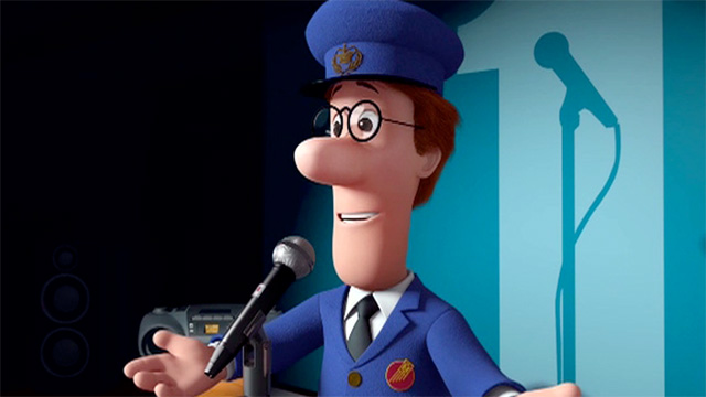 Still from the Postman Pat movie