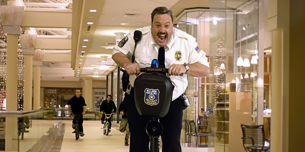 "Kevin James as ""Paul Blart"" in Columbia Pictures' comedy Paul Blart: Mall Cop."
