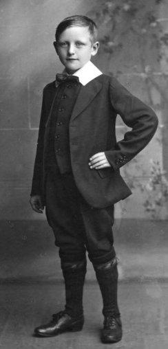Middle class Edwardian Boy