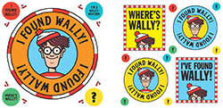 I found Wally stickers