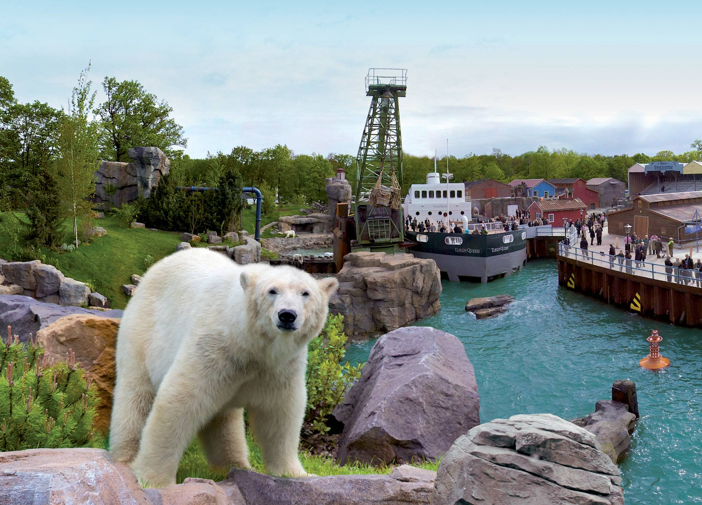 Yukon Bay Eroeffnung im Zoo Hannover