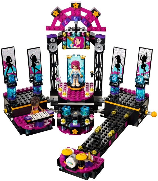 pop stars stage