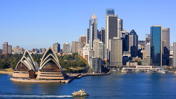 Sydney-Australia-city-waterfront-wallpaper