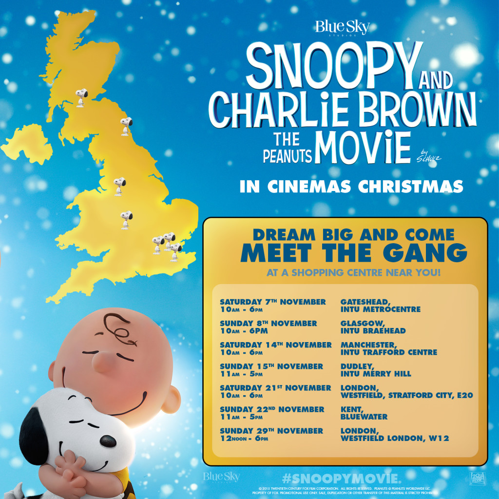 Snoopy Shopping Centre Tour Map APPROVED