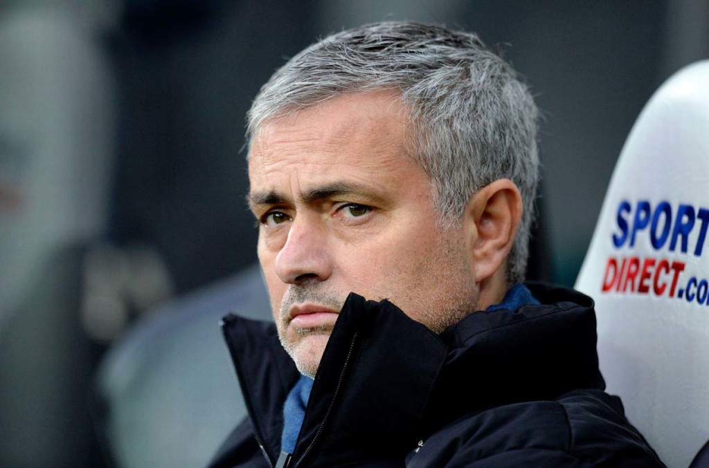 Chelsea-vs-Sporting-Preview-and-Live-Stream-mourinho-sad-angry-face-profile-beard-hair-teeth-clothes-wearing-porsche-jacket-brown-eyes