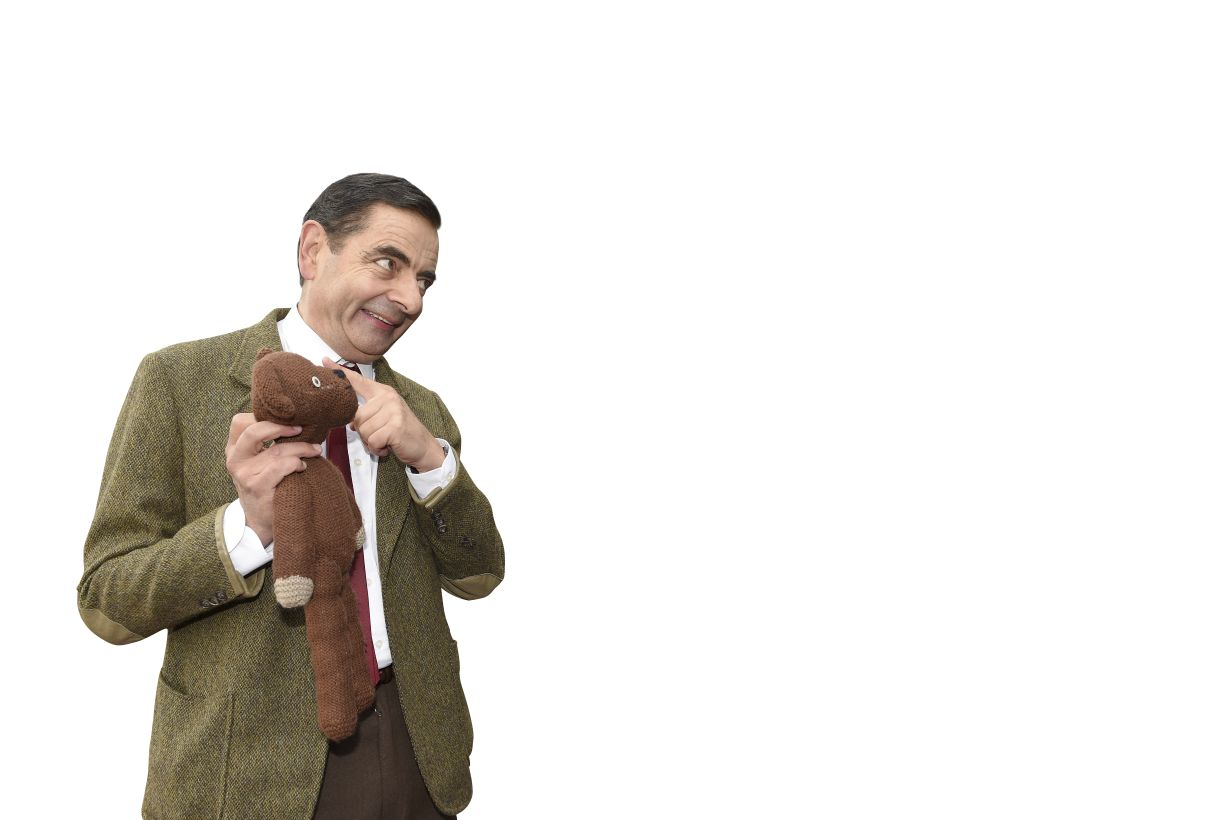 LONDON, ENGLAND - SEPTEMBER 04: Rowan Atkinson as Mr Bean celebrates 25 years at Buckingham Palace on September 4, 2015 in London, England. (Photo by Karwai Tang/WireImage) /m/loader/final_group_loader/MEG_36_p12_Beanv5_for_loading/MEG_36_p12_Beanv5/