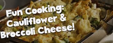 Cauliflower Broccoli Cheese