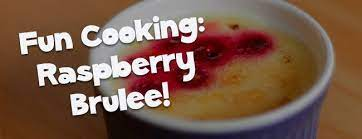 Raspberry Brulee