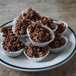 Plain Chocolate Rice Cakes