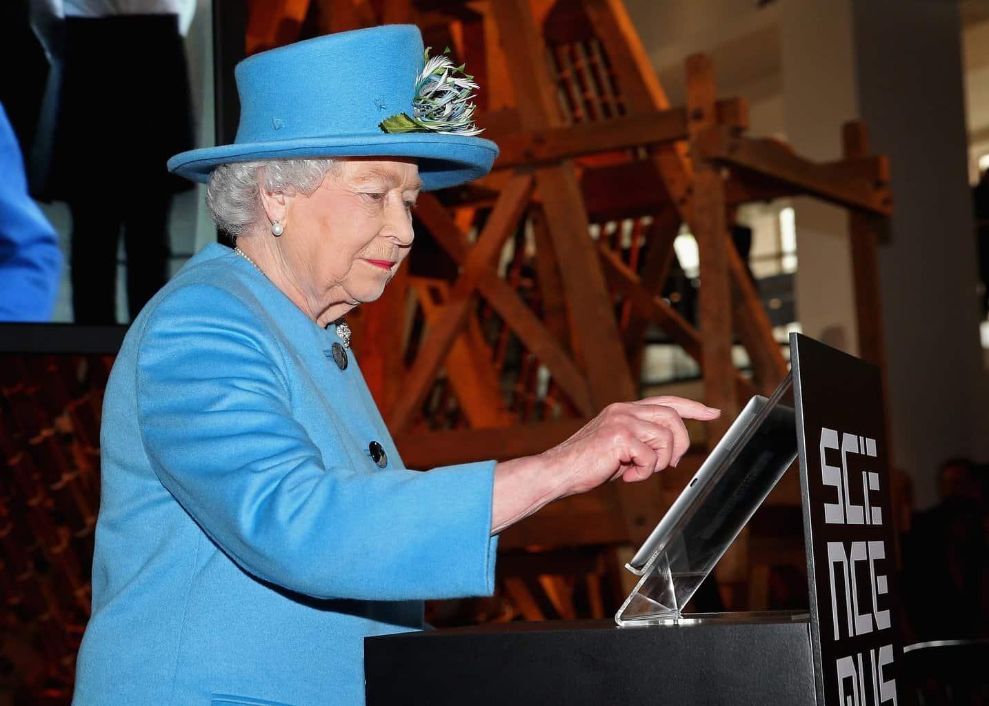 BRITAIN-ROYALS-TECHNOLOGY