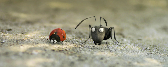 Film still of 'Minuscule: Valley of the Lost Ants', 2013 France/Belgium animated film, co-written and directed by Helene Giraud and Thomas Szabo[11SEP2014 48HRs FILM REVIEW 2]