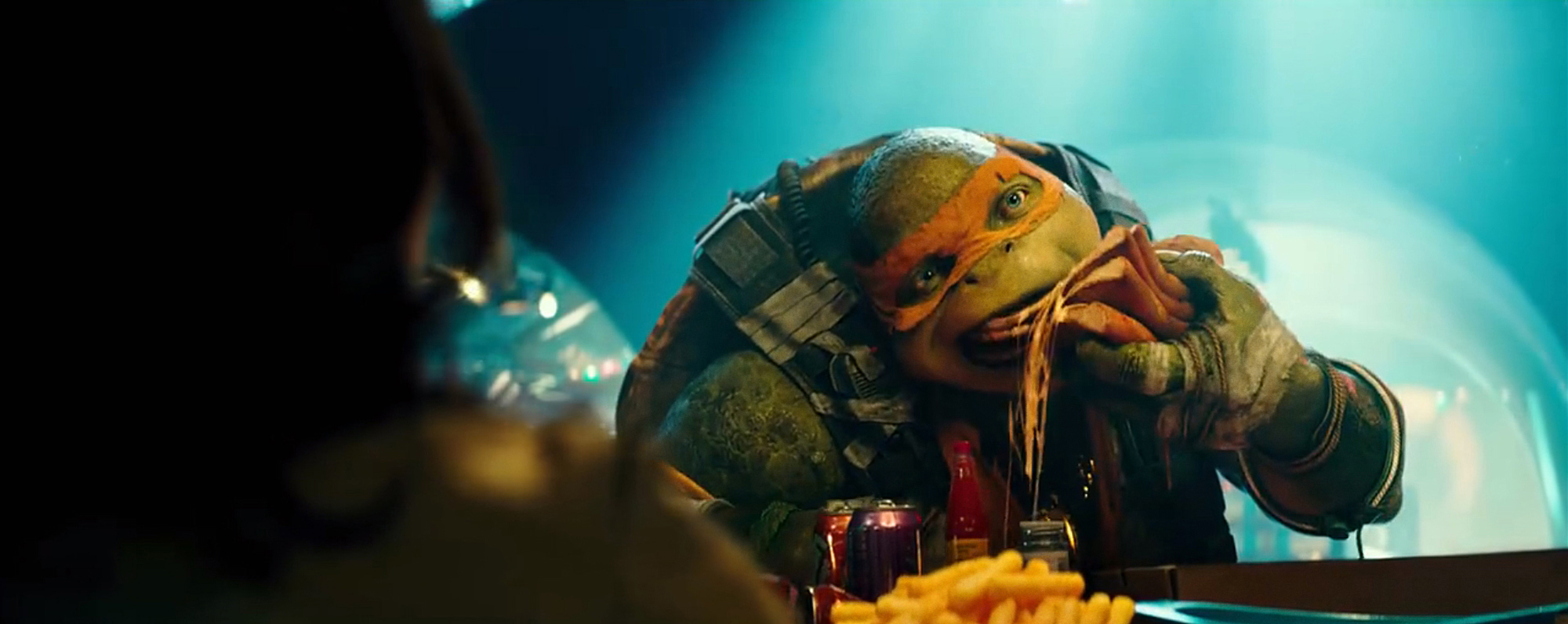 Michelangelo in Teenage Mutant Ninja Turtles: Out of the Shadows from Paramount Pictures, Nickelodeon Movies and Platinum Dunes