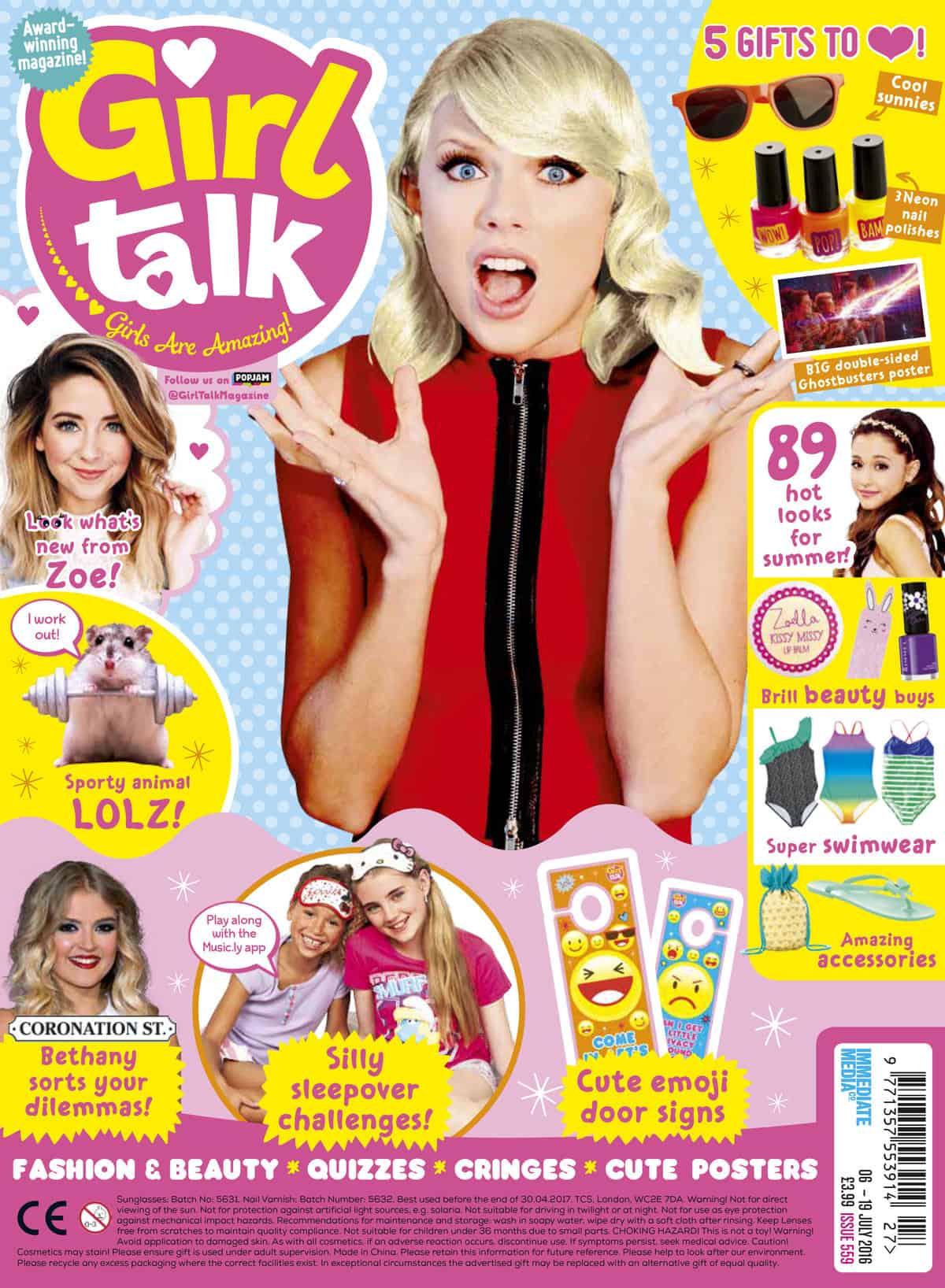 Kaj je vaš poletni slog z revijo za pogovor z dekleti - zabavna otroka - otroci z Uksom-4778
