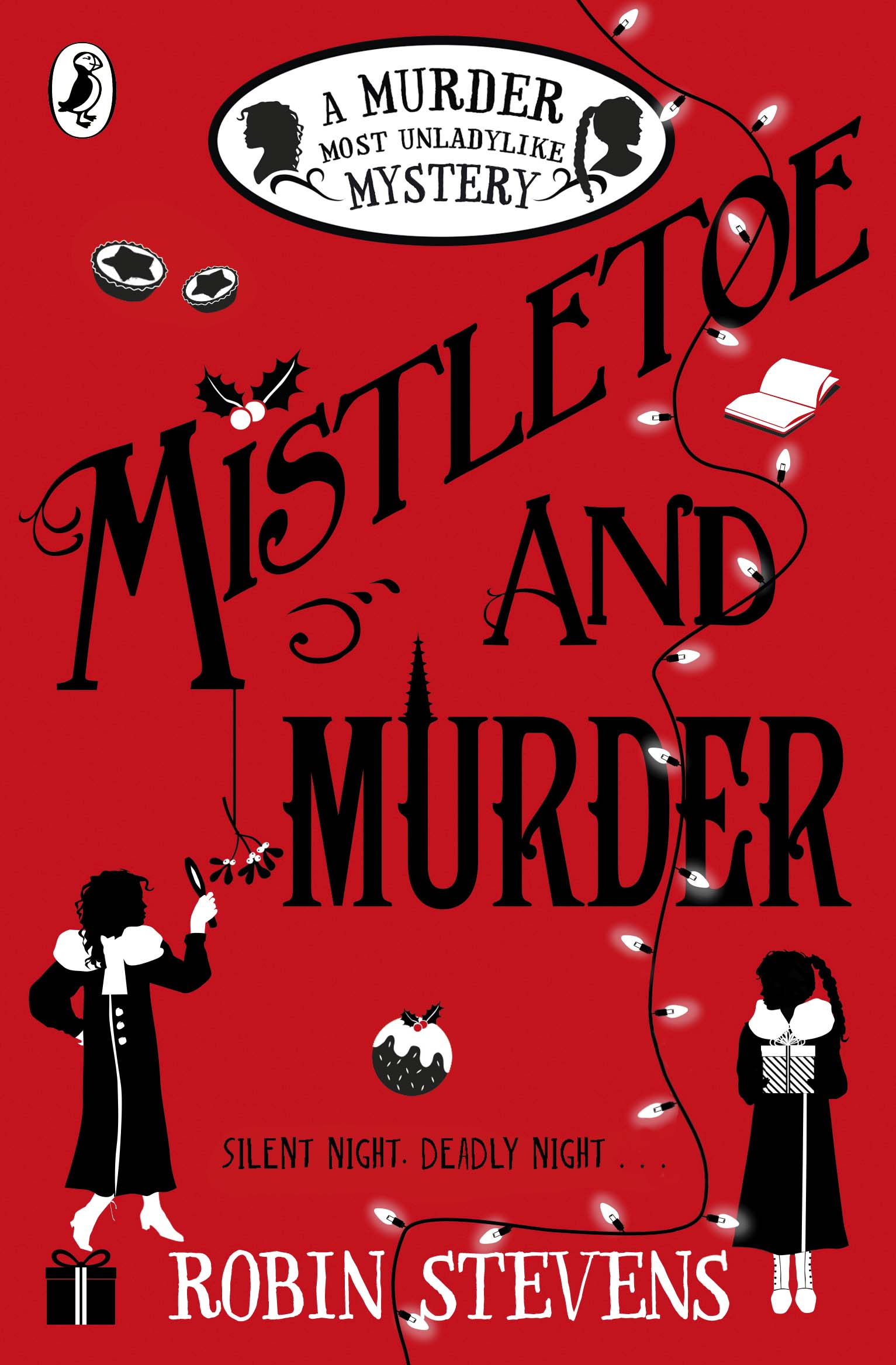 Mistletoe and Murder cover