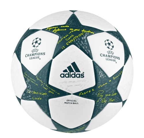 Original Matchball UEFA Champions League Finale 16.clipular