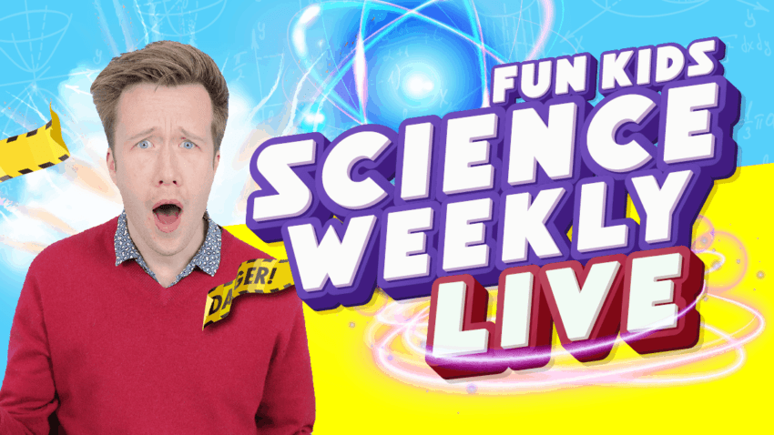 Fun Kids Science Weekly Live Show!