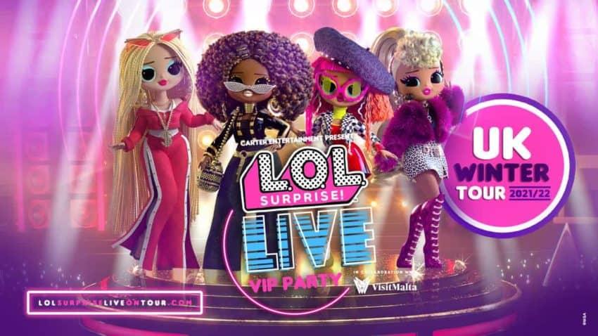 L.O.L. Surprise! LIVE VIP Party!