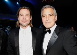 BAFTA-2012-nominations-Brad-Pitt-George-Clooney