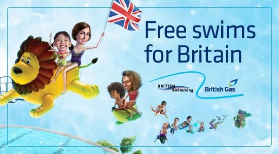 British Gas - swimming 2