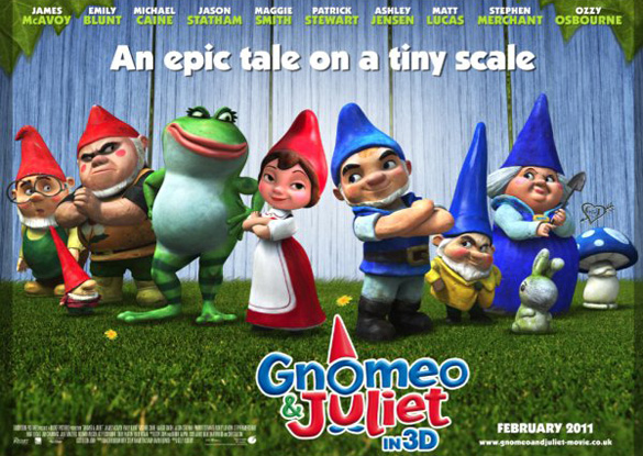 Gnomeo and Juliet Banner