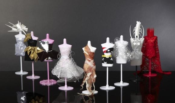 Fashion designer creates Lady Gaga inspired dresses for dolls
