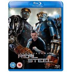 Real Steel Blu-ray Packshot - 2D