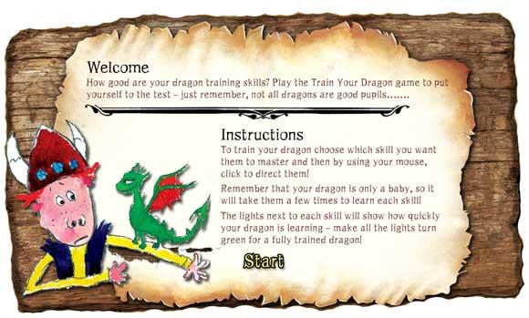 train-dragon-game